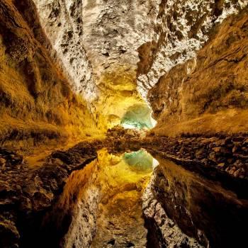 Ausflug nach Timanfaya, Mirador del Río, Jameos del Agua und Cueva de los Verdes