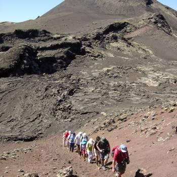 Senderismo Ruta en el Parque Natural de los Volcanes